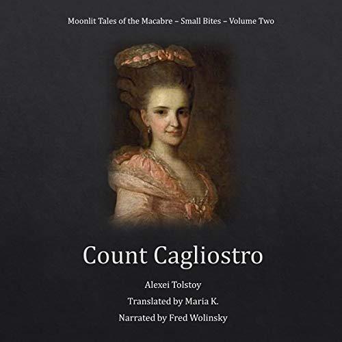 Count Cagliostro audiobook cover art