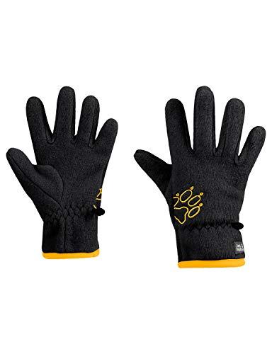 Jack Wolfskin Kinder BAKSMALLA Fleece Glove Kids Handschuhe, Black, 128