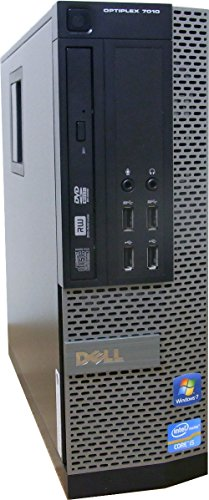 中古パソコン デスクトップ DELL OptiPlex 7010 SFF Core i5 3570 3.40GHz 4GBメモリ 500GB Sマルチ Windows7 Pro 搭載 正規リカバリーディスク付属 動作保証30日間 デル 本体のみ
