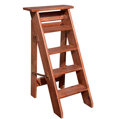 ZHAS Plegable 4/5/6 Peldaño Escalera con escalones, Silla de Escalera para el hogar Escaleras de Mano de…