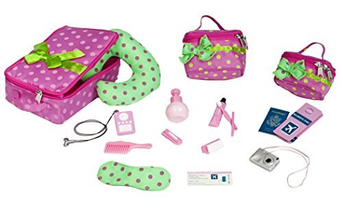 Our Generation Luggage and Travel Set for 18 Inch Dolls by Toysmith