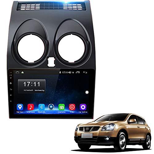 Multimedia Video Player Touchscreen Auto GPS Navigationssystem Radio Fit für N-issan Qashqai J10 2006-2009 2011-2013 Bluetooth Wi-Fi / 4G AM/FM-Tuner,WiFi (1gb 16gb) a