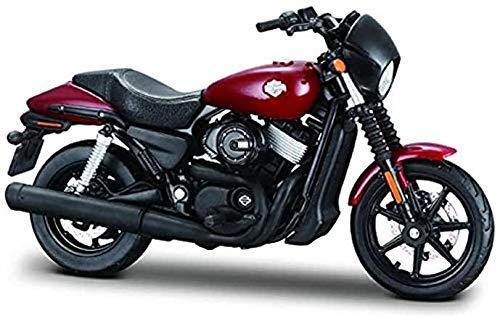Maisto Harley Davidson 2015 Street 750 rood 1:18 schaalmodel motorfiets