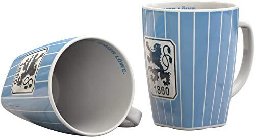 1860 München Tasse, Becher, Kaffeetasse Stripes