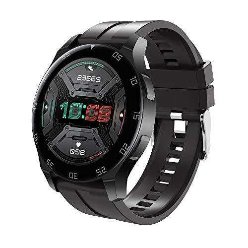 Yumanluo Smart Band Smart Watch,Temperatura Corporal, frecuencia cardíaca, presión Arterial, monitorización del Ejercicio, Reloj de Llamada Bluetooth, Negro,Pulsera Inteligente con Pulsómetro