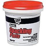 DAP 10200 Spackling Paste, 1/2 Pint, White