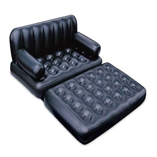 AGQLT ligstoel Opblaasbare bank Opblaasbare dubbele ligstoel Water float bed Opvouwbaar Multifunctioneel PVC Zomer buitenspeelgoed