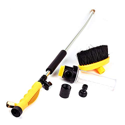 Car Washer Water Jet High Pressure, Power Washer Spray Nozzle Watering Gun, Home Garden Hose Pipe Wand Attachment Best Choice Cleaning