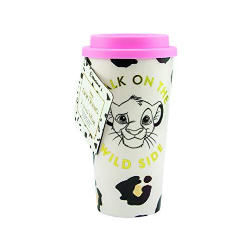 Paladone Disney - Taza de viaje de plástico con doble pared (450 ml)