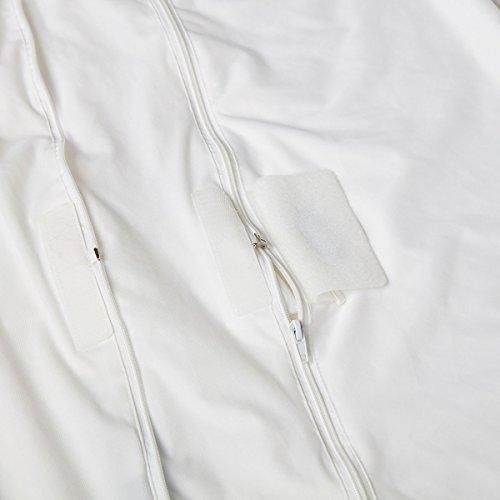 SOAK AND SLEEP Waterproof Anti Bed Bug Mattress Encasement - Small Double