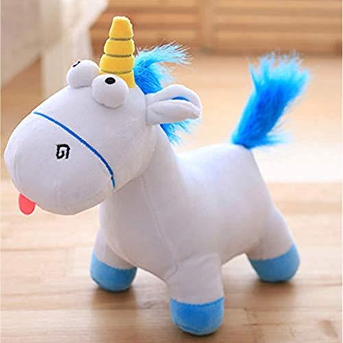 Odnryx Película Despicable Daddy Agnes muñeca Mascota Peluche Unicornio Caballo Peluche Animal Juguete para niños Regalo de cumpleaños 35cm Rosa
