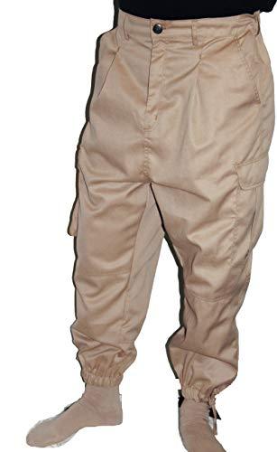 Islamische Kleidung Amana Harem Hose Sunnah Hose Beige (2XL)