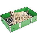 Suinga PARIDERA Perros 152 x 120 x 50h para Razas de Perros Grandes. Previenen la mortalidad de los Cachorros en criaderos Profesionales