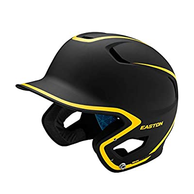 EASTON Z5 2.0 Batting Helmet Matte Two-Tone Series | Baseball Softball | 2020 | Dual-Density Impact Absorption Foam | High Impact Resistant ABS Shell | Moisture Wicking BioDRI Liner | Removable Logo