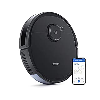 Ecovacs DEEBOT OZMO920 Robotic Vacuum Cleaner, 2-in-1 Vacuuming & Mopping with Smart Navi 3.0 Laser Technology, Custom Cleaning, Multi-Floor Mapping, Virtual Wall, Works on Carpets & Hard Floors (B07W6YG1LC) | Amazon price tracker / tracking, Amazon price history charts, Amazon price watches, Amazon price drop alerts