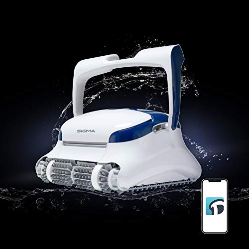 DOLPHIN Sigma Robotic Pool Cleaner with Bluetooth and Massive Top-Load Cartridge Filters