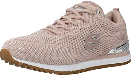 Skechers Damen Sneaker Low Sunlite Magic DUST rosa 39