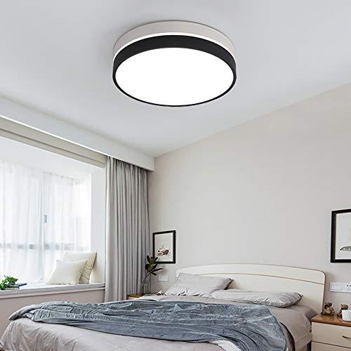 24W LED Deckenlampe Bad, IP54 WasserfestBadlampe, Ø50cm 3000-6000K Rund Flach Decken Für Badezimmer Wohnzimmer Schlafzimmer Smart Voice Für Google-Startseite, Amazon Echo Und Steuerung