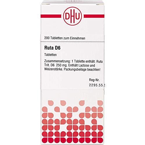 RUTA D 6 Tabletten 200 St