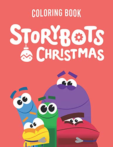 StoryBots christmas Coloring Book: Activity Book for Kids: A Fun Kid Workbook Game For Learning, Coloring, and More!