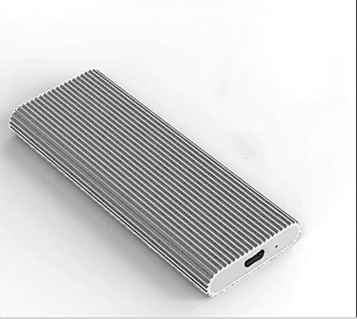Externe harde schijf 2 TB, draagbare harde schijf voor pc, laptop en Mac (2 TB, Silver)