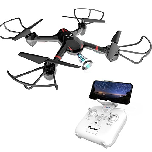 DROCON Easy to Fly Drone with Real-time Video, Wi-Fi FPV Quadcopter
