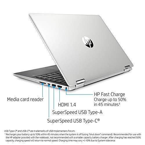"HP Pavilion x360 14 Convertible 2-in-1 Laptop, 14"" HD Touchscreen Display, Intel Core i5, 8 GB DDR4 RAM, 512 GB SSD Storage, Windows 10 Home, Backlit Keyboard (14-dh2010nr, 2020 Model)"