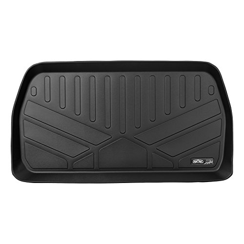 MAXLINER All Weather Cargo Liner Floor Mat Behind 3rd Row Black for 2017-2018 Chrysler Pacifica