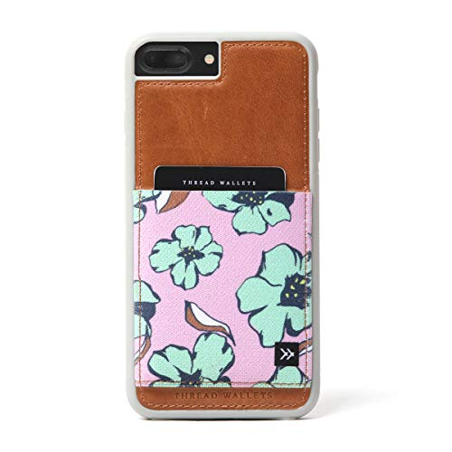 Thread Wallets - Slim Minimalist iPhone Wallet Case - iPhone 6+/6s+ - iPhone 7+ - iPhone 8+ (Fits All Plus+ Sizes) (Happy Hour)