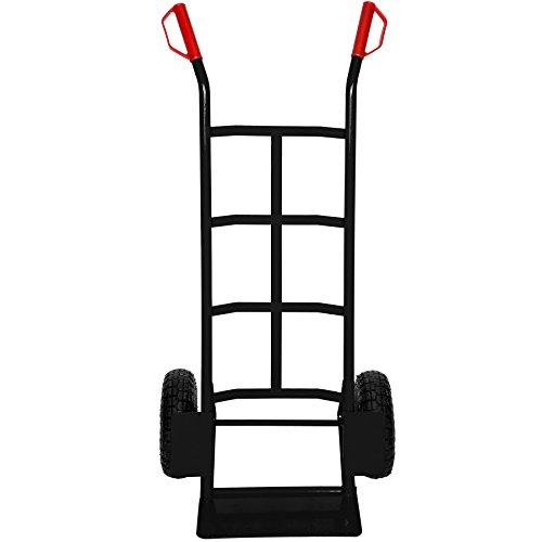 TecTake Diable Chariot Sac brouette - diverses modèles - (Diable Chariot Noir | 400677)