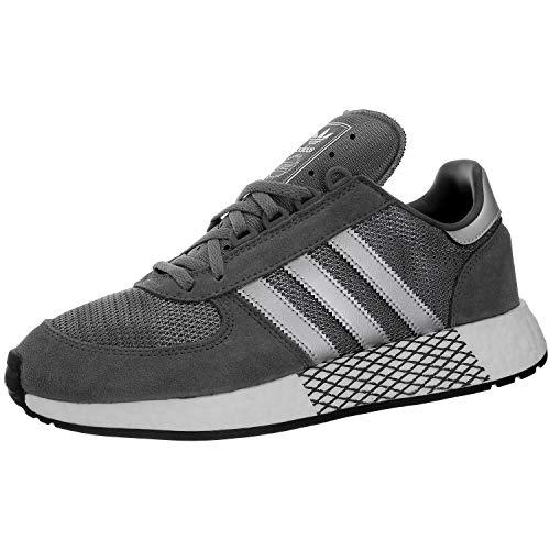 Mens Adidas Originals Marathon x5923 Trainers in Grey