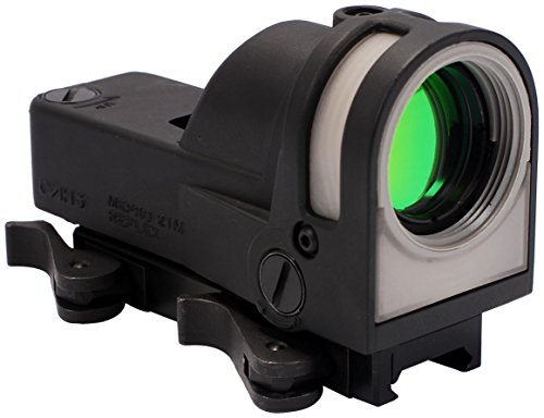 Meprolight Self-Powered Day/Night Reflex Sight with Dust Cover, Triangle/Reticle, Multi (Mepro M21-T)