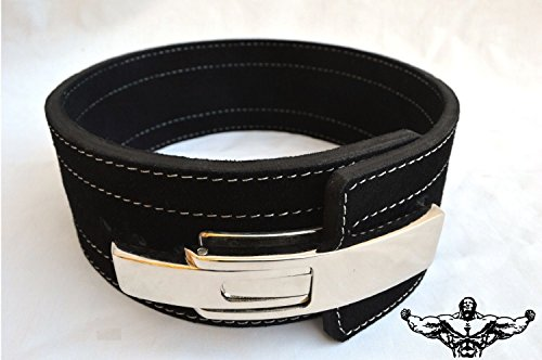 Quest powerlifting belt with lever image