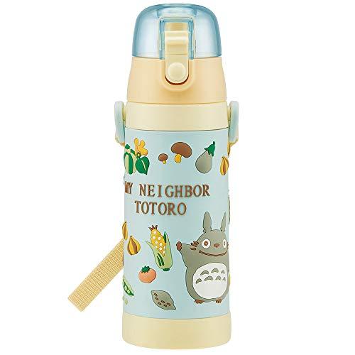 Botella de agua 3D acero inoxidable bebida recta para los niños 480ml Mi vecino Totoro verduras color Ghibli SDPV5