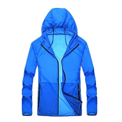 Vêtement d'été pour extérieur, protection solaire, léger, imperméable et respirant pour couple. - Bleu - 4XL
