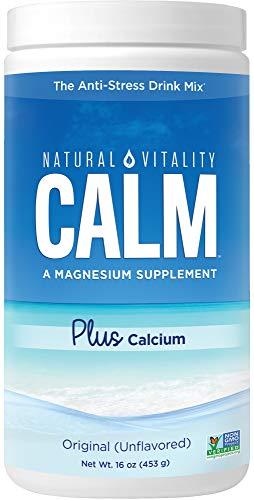 Natural Vitality Calm Plus Calcium Powder