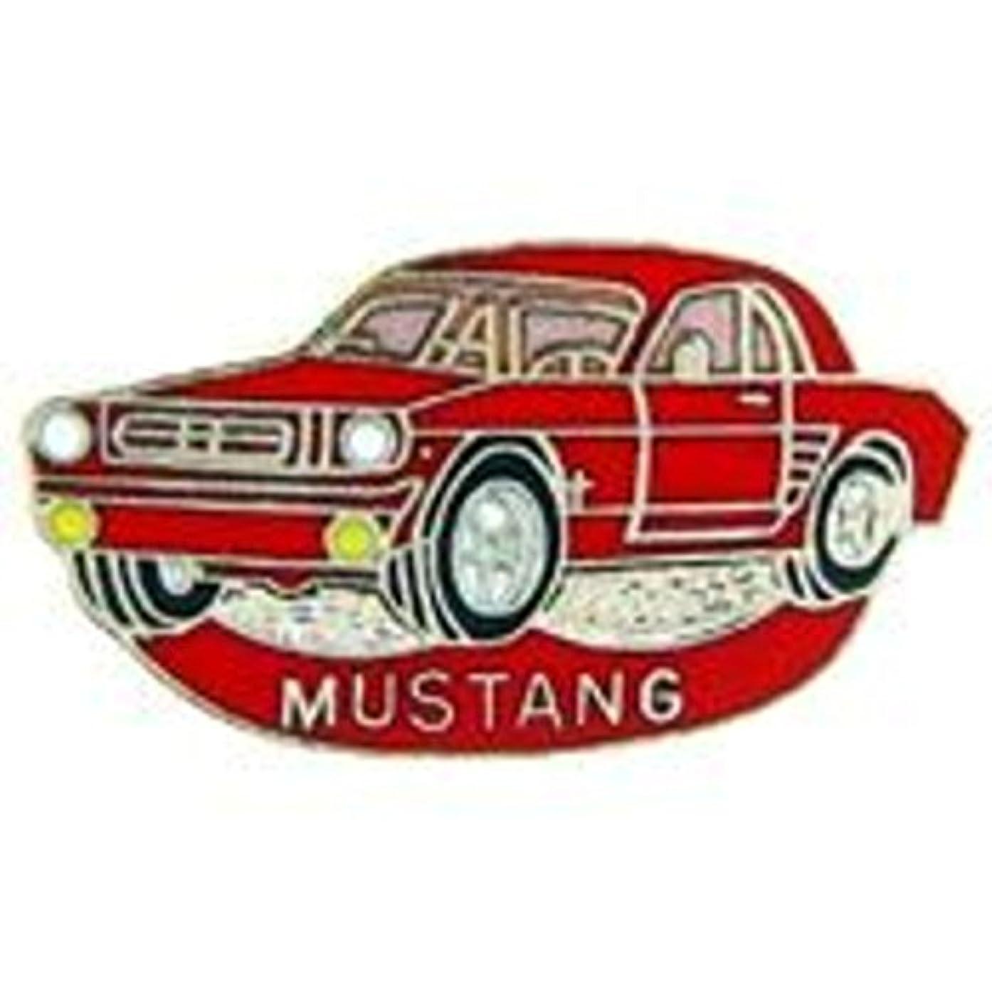 EagleEmblems P06695 PIN-CAR,Mustang,'65,RED (1'')