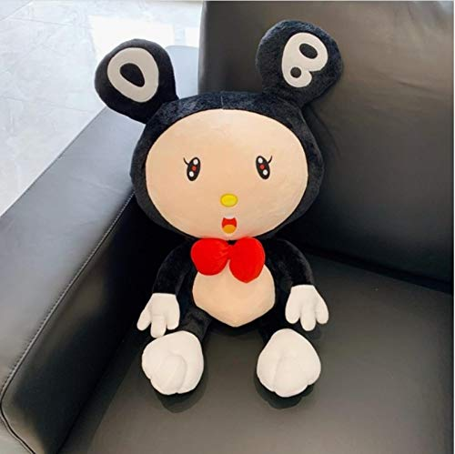 FDFSDAMAI Kawaii Dob Plush Toy Soft Bear Doll Classic Stuffed Dolls Children Playmate Home Decor Cushion Gift 40Cm