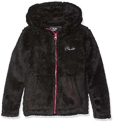 Dare 2b - Pañuelo de Forro Polar con Cremallera Completa para niña, Infantil, Color Negro, tamaño Talla 5-6