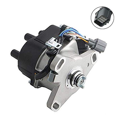 MOSTPLUS TD44U Ignition Distributor Compatible with Honda Acura Integra B16A OBD1 B16A2 V-TEC DST17407 TD68U