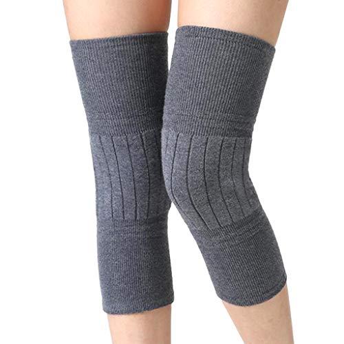 Xiaoping Cashmere Knieschoner Warme Knieschützer Atmungsaktive Kniegelenk Knieschutz Knieschützer (Color : 1, Size : M)