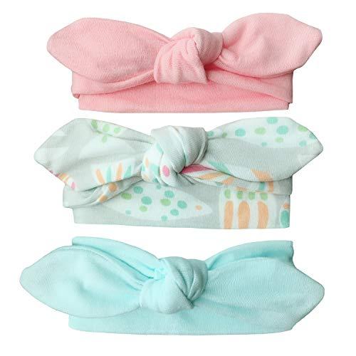 Ecroon Stirnbänder Baby Mädchen weich Baumwolle Haarband Stirnband Madchen Turban Babygeschenke