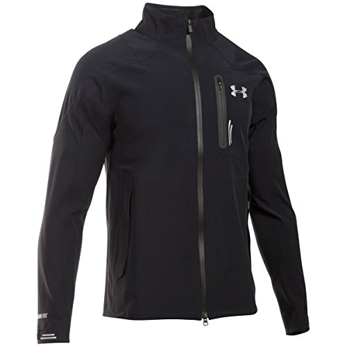 Under Armour Ua Tips Gore Tex Jacket - Zwart/Zwart/Zilver