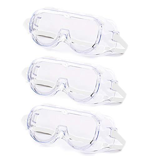 DUEBEL Gafas Protectoras contra Virus Marco Flexible