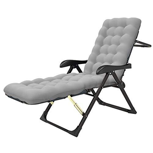 Wyjw klapstoel, kantelbaar en inklapbaar, verstelbaar, voor terras en ligstoel, kantelbare stoel, voor de tuin, met terras, tuin, met afneembaar kussen, max. 200 K.