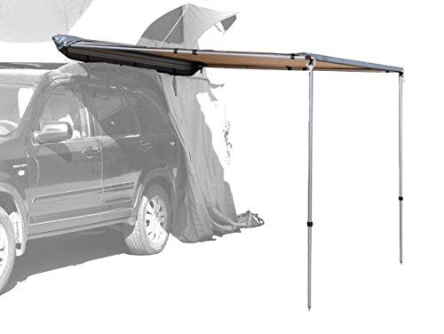 Prime Tech Fahrzeug-Markise 200x200x210cm beige auch für Dachzelte