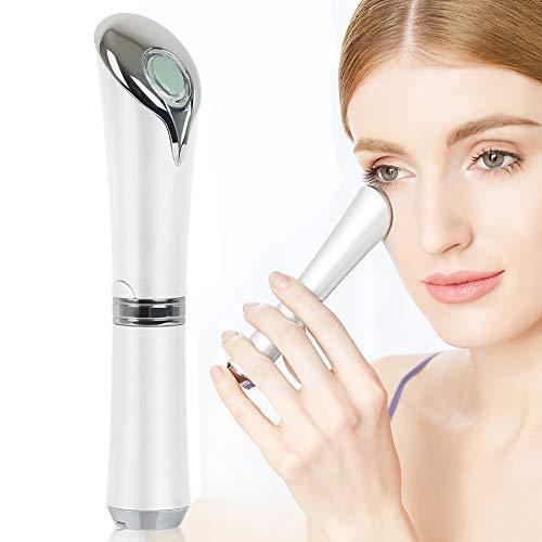 Masajeador de ojos sónico de varita galvanica antienvejecimiento, aniones importadas, removedor de arrugas recargable para ojeras y hinchazón, vers mejorados