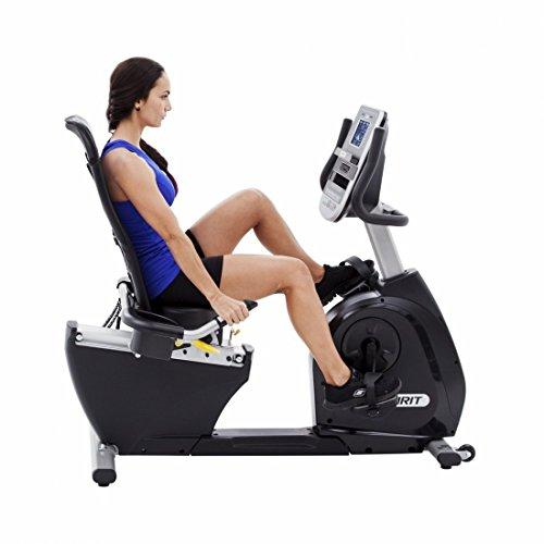 """Spirit Fitness Bike XBR 95 – Heimtrainer, Sitz-Ergometer, 12 Programme, 13,5kg Schwungrad, 7,5"""" LCD - 3"""