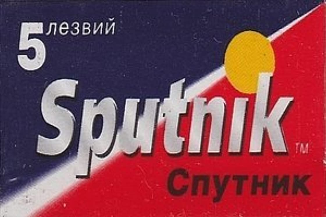 比べるキャンセル政令Gillette Sputnik 両刃替刃 5枚入り(5枚入り1 個セット)【並行輸入品】