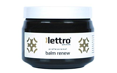 Lettro Balm Renew, balsamo restauratore di Lettro è un condizionatore e ravvivatore dei colori di qualitá per articoli in pelle, mobili, sedili dell'auto, scarpe e articoli di selleria 200ml (Marrone Scuro)
